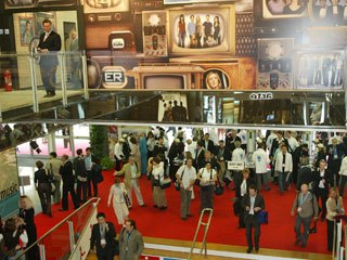 The global economic tsunami affected MIPCOM 2008, but those who came got business done. © MIPCOM.