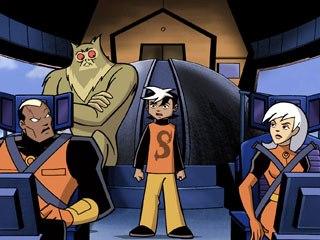 The Secret Saturdays evokes a Saturday morning cartoon sensibility. Doc, Drew and Zak Saturday with