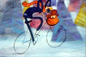 L'Enfant au Grelot / Charlie's Christmas by Jacques-Remy Girerd. © Folimage.