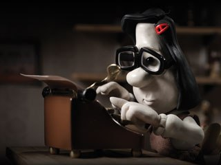 Mary and Max boasts the pen pal relationship between lonely 8-year-old Mary Dinkle (pictured) and 44-year-old New Yorker Max Horovitz. All images © Melodrama Pictures.