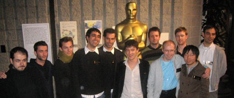 The directors of the Oscar-nominated animated shorts pose at the Academy in Beverly Hills. All photos © AWN, Inc. unless otherwise noted.