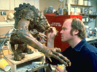Work on the Rancor monster for Return of the Jedi helped Tippett win his first Oscar. Courtesy of Tippett Studio.