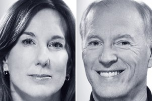 Kathleen Kennedy and Frank Marshall.