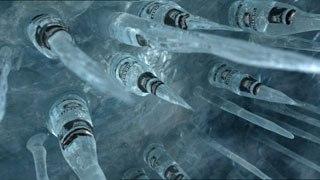 [Figure 1] Smirnoff Ice Icicle commercial. Image courtesy of Animal Logic