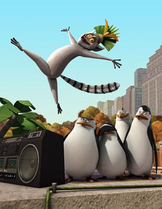 The penguins are back in their own Nick series, The Penguins of Madagascar: animated overseas at the DK Ent. and Paprikaas studios in India, but built and rigged at Nickelodeon's Burbank animation studio. All images © 2009 Nickelodeon.