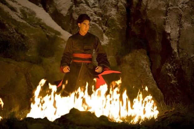 Slumdog Millionaire star Dev Patel gets to show his dark side as Zuko.