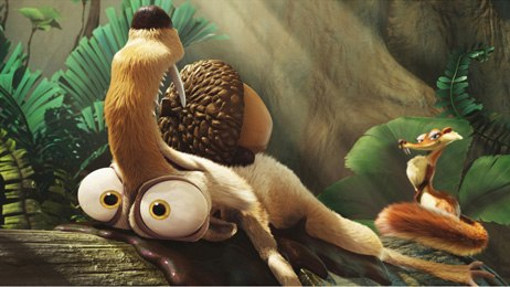 3-D adds a new tool to Saldanha's toolbox. All Ice Age images copyright Twentieth Century Fox.