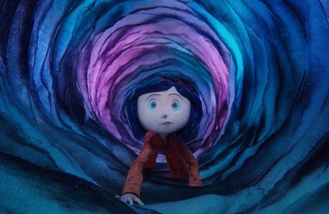 Coraline arrives on Blu-ray/DVD after becoming the second biggest box office grosser for stop-motion. All images © Focus Features.