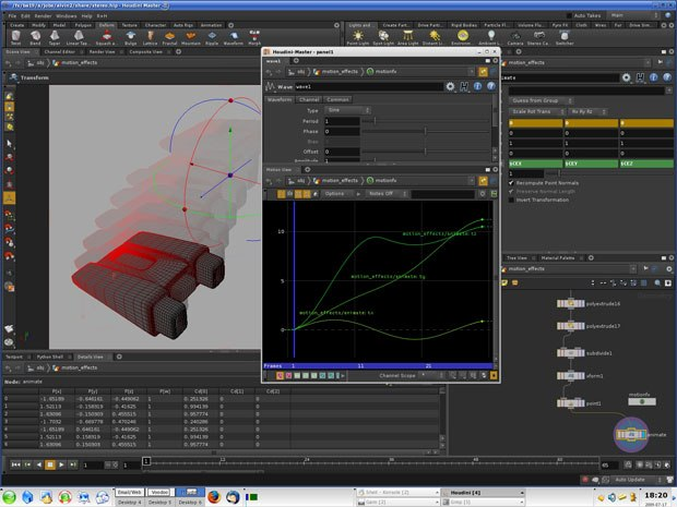 Houdini 10 Review: Getting into Motion FX | Animation World