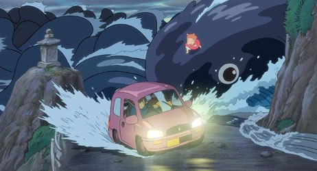 Hayao Miyazaki brings his signature joy and magic to Ponyo. All images courtesy of Walt Disney Pictures. © Nibariki-GNDHDDT.