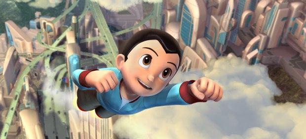 Astro Boy remains an iconic, heroic, innocent despite the angst-ridden story. © 2009 Imagi Crystal Limited and Summit Ent., LLC.