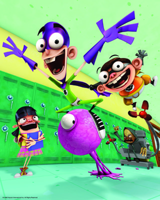 Fanboy brings squash and strech to TV CG animation. © Viacom International, Inc.