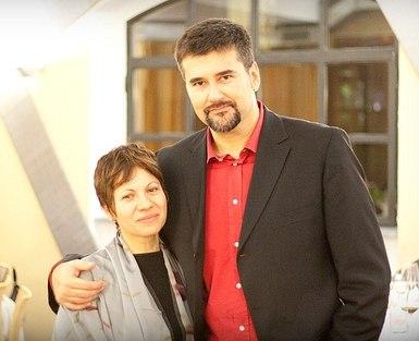 Festival Director Maria Elena Gutierrez and me