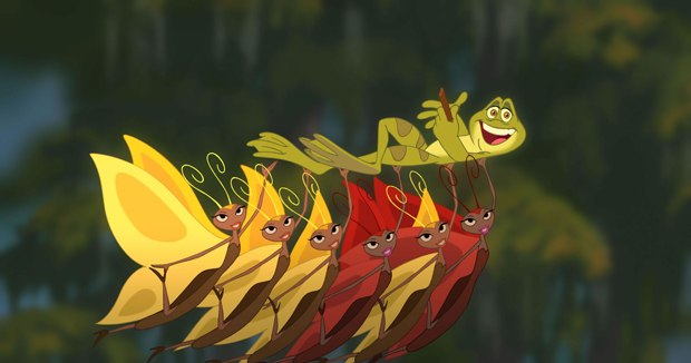 Premise helped make The Princess and the Frog pop. Images courtesy of Walt Disney Pictures.