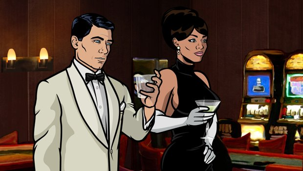 Archer takes spy spoofing to a whole new level for adult TV animation. All images courtesy of FX.