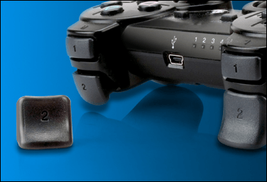 The Dual Triggers snap on and off your standard PS3 controller easily.