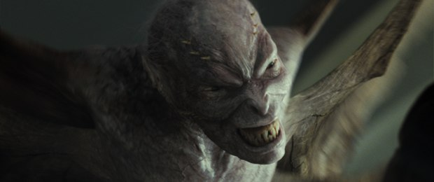 Chris Columbus provided a sketch with six wings and big teeth, and Digital Domain went to work on The Fury. All images courtesy of Twentieth Century Fox.