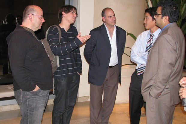 The Lady and the Reaper's producer Raul Garcia, director Javier Recio Gracia, and exec producer Enrique Posner chat with ICM agents.
