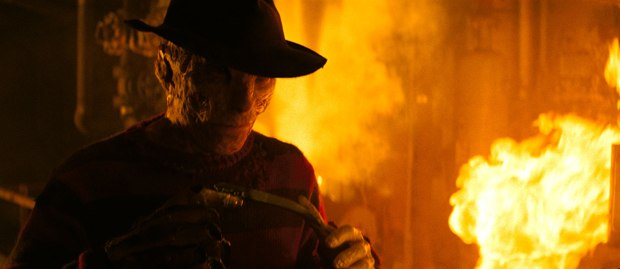 """Method used """"the latest rendering technologies to get a nice wet, subsurface-y, flesh look for the new Freddy."""" All images courtesy of Warner Bros."""