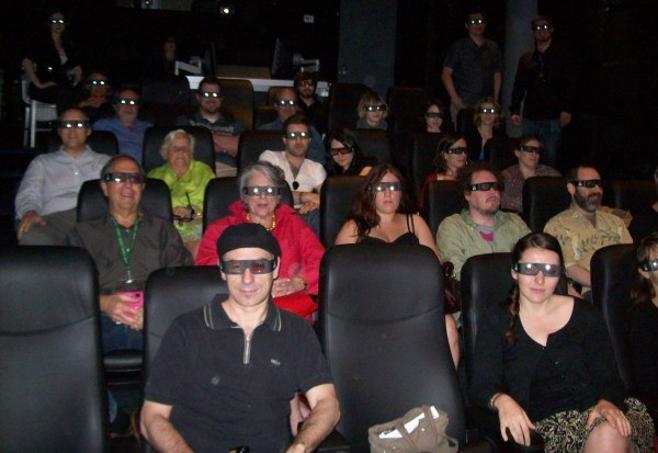 3D Filmgoers at the Be Film Festival