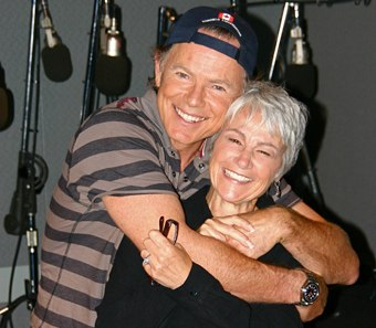 Bruce Greenwood and Andrea Romano