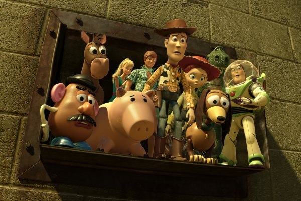 Woody, Buzz and the gang. © Disney/Pixar.