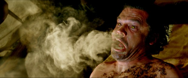 A smoky precursor for something more horrific. All images courtesy of Warner Bros. Pictures.