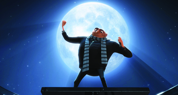 Meledandri is shooting for the moon with Despicable Me. All images courtesy of Universal Pictures.