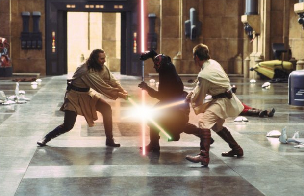 Knoll thinks close shots often work best for getting the most stereoscopic impact. Images courtesy of Lucasfilm Ltd.