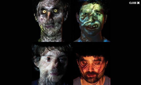 Experimental, psychedelic musicians Animal Collective