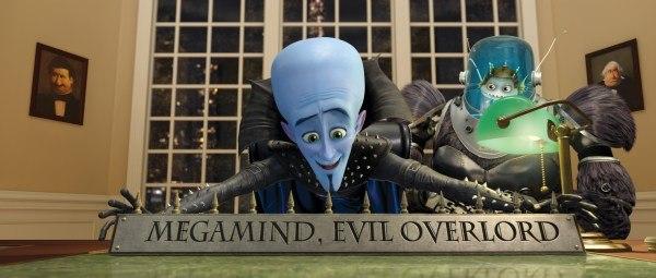 Megamind. All images courtesy of DreamWorks Animation.