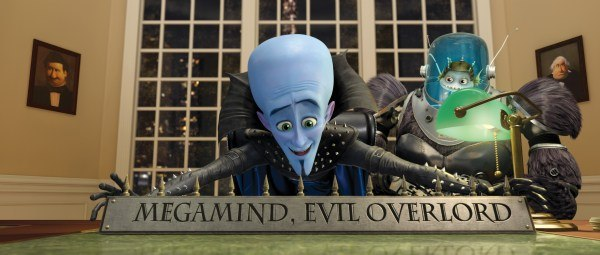 Megamind. All images courtesy of DreamWorks Animation.