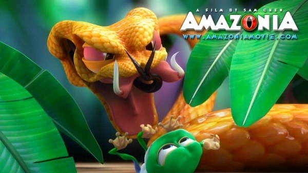 Amazonia - directed and animated by Sam Chen.