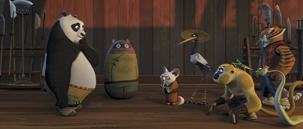 Kung Fu Panda was likable but not the knockoffs. Image courtesy of DreamWorks Animation.
