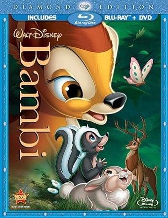 Bambi Blu-ray