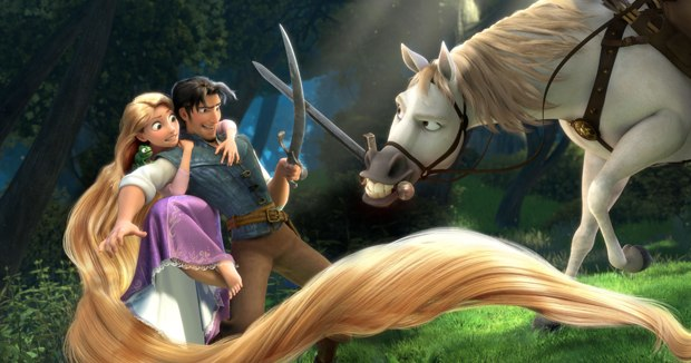 Tangled is a first-time Disney hybrid when it comes to storytelling and technique. Images courtesy of Disney.