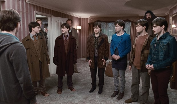 For the seven Potters, MPC helped to convey both Harry and the characters behind the mask. Images courtesy of Warner Bros.
