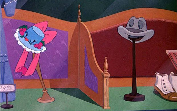 "Dr. Toon reassesses his negative reaction to Make Mine Music, but can the film overcome sappy sequences like ""Johnny Fedora and Alice Bluebonnet?"" Images courtesy of Disney."