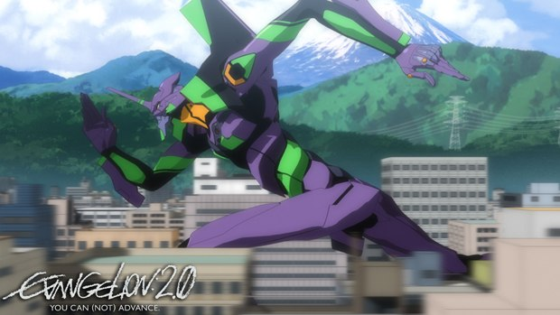Evangelion 2.0: You Can (Not) Advance continues the epic adventure. Courtesy of FUNimation Ent.