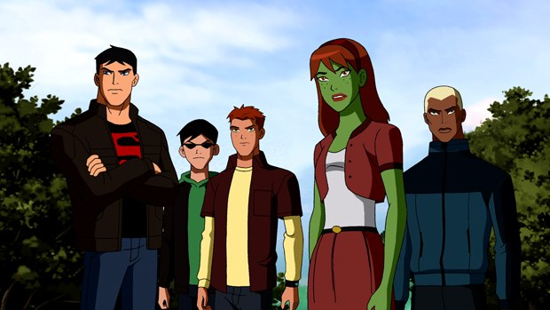 Realism is at the heart of Young Justice with live-action film influences. Images © Warner Bros. Entertainment Inc.