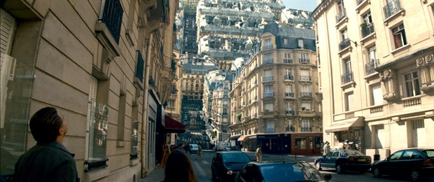 Inception's iconic folding city was one of several diverse challenges. © Warner Bros.