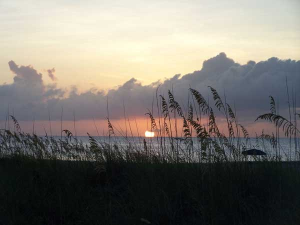 Sunrise on Tybee Island, Ga.