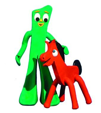 [Figure 1.29] Gumby and Pokey, stars of Gumby: The
