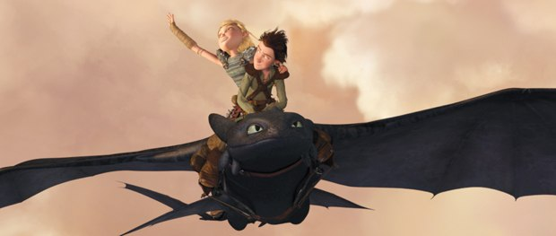 Dragon opened up new storytelling and technical possibilities at DreamWorks. Courtesy of Paramount Pictures.