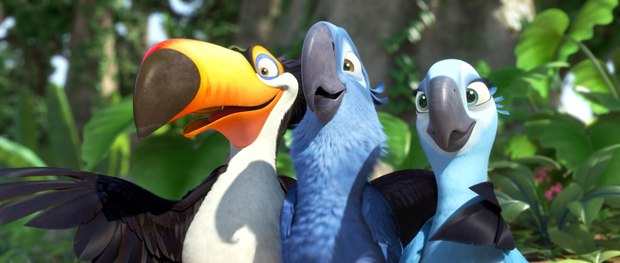 Feathers were the first big challenge in animating the birds. © Twentieth Century Fox Film Corp.