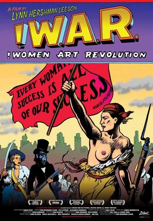 Poster for newly released documentary film !Women Art Revolution