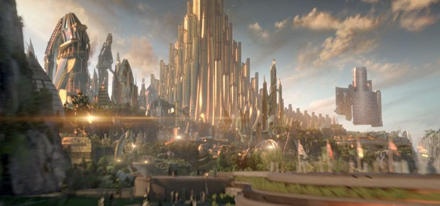 Whiskytree utilized fractal geometry as one of the concepts for Asgard. Courtesy of Marvel.