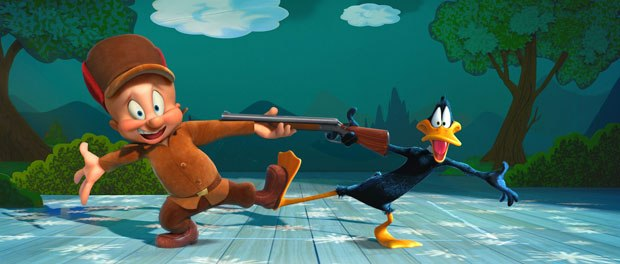Elmer Fudd and Daffy Duck star in Daffy's Rhapsody, an all-new Looney Tunes 3D theatrical cartoon short from Warner Bros. Animation.