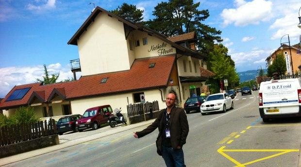 Marek Tousek hitchhiking. Every day...