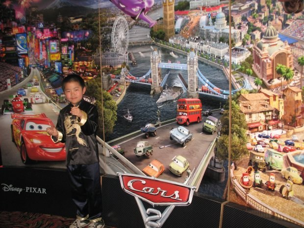Perry Chen at Cars 2 press screening (photo by Zhu Shen).